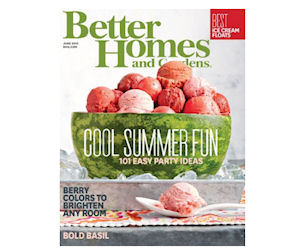 Enjoy A Free Subscription To Better Homes Gardens Free