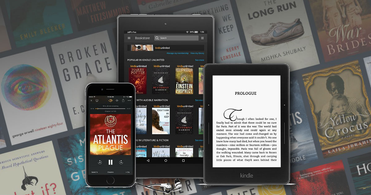 3 Months FREE of Kindle Unlimited ($29.97 Value!) - Extended