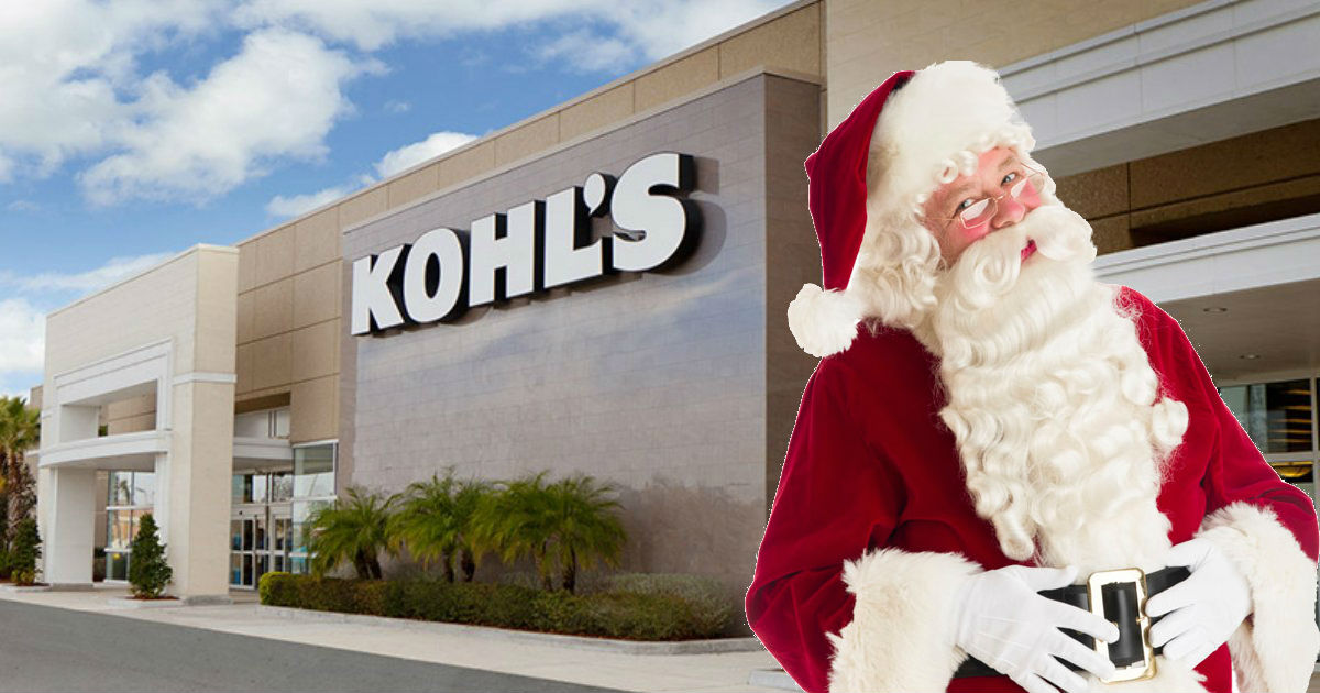 Free Photo with Santa & Hot Wheels or Barbie Gift at Kohl's