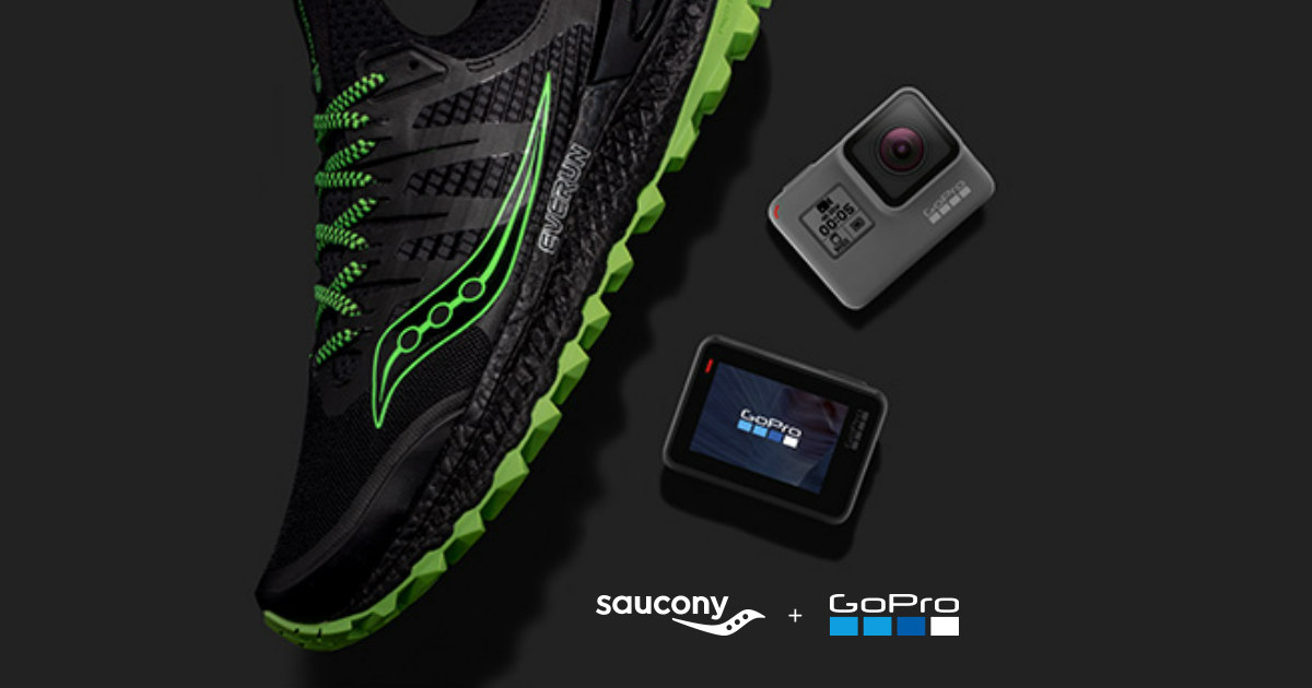 Win a $160 Saucony Gift Card and GoPro HERO5 Black