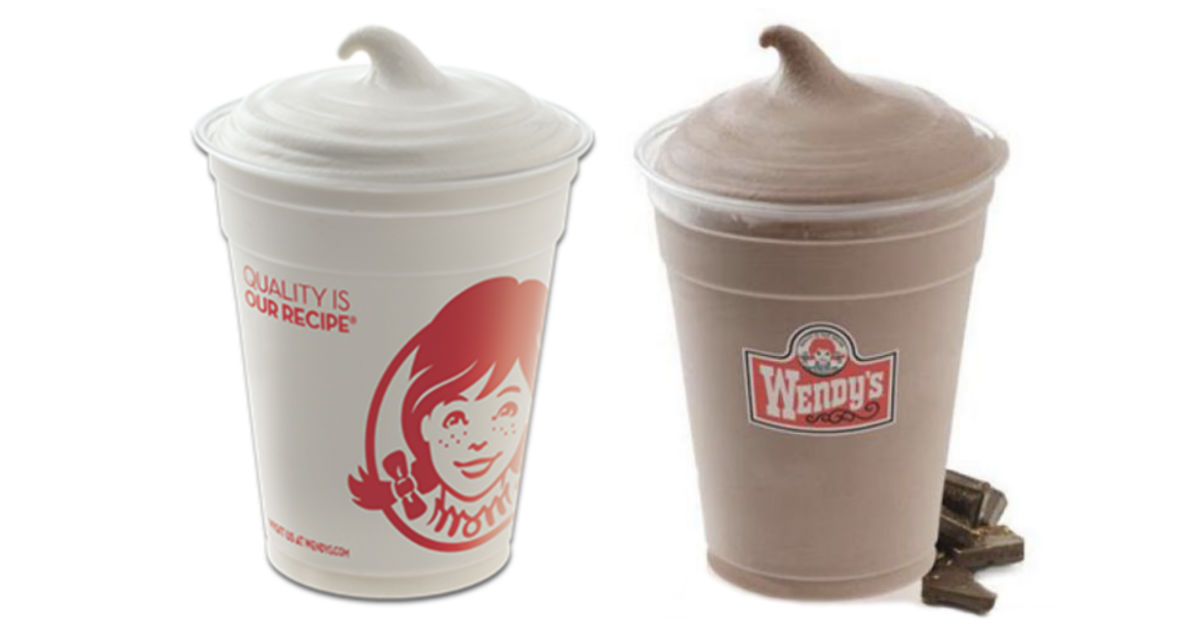 Wendy's Small Frosty ONLY $0.50 (Vanilla or Chocolate)