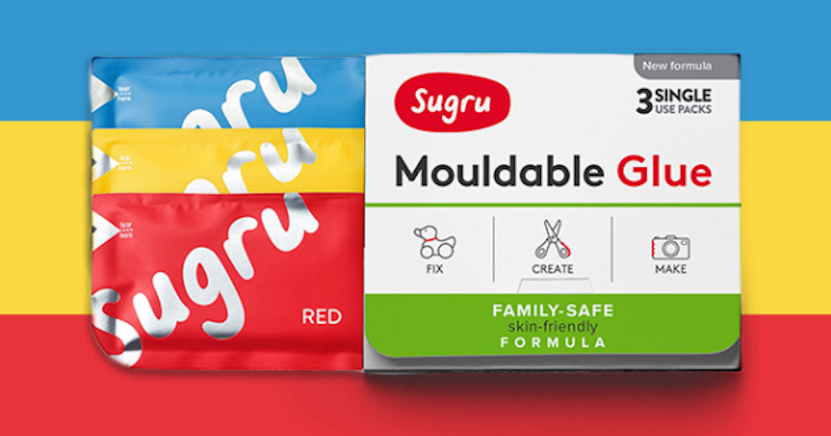 Free Sample of Sugru Mouldable Glue