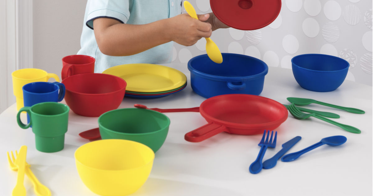 KidKraft 27-Piece Cookware Playset ONLY $6.88 (Regularly $20)
