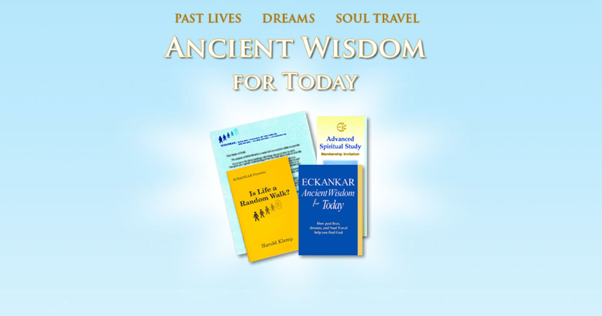 Free Eckankar Ancient Wisdom Books