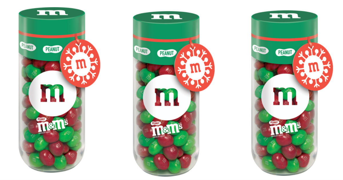 Save $2.00 on M&M and Skittles Holiday Gift Jars at Walmart