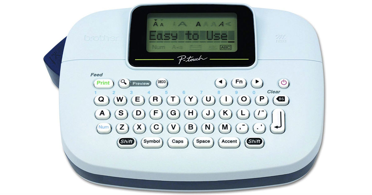 Brother P-Touch PT-M95 Label Maker ONLY $9.99 (Reg $25)