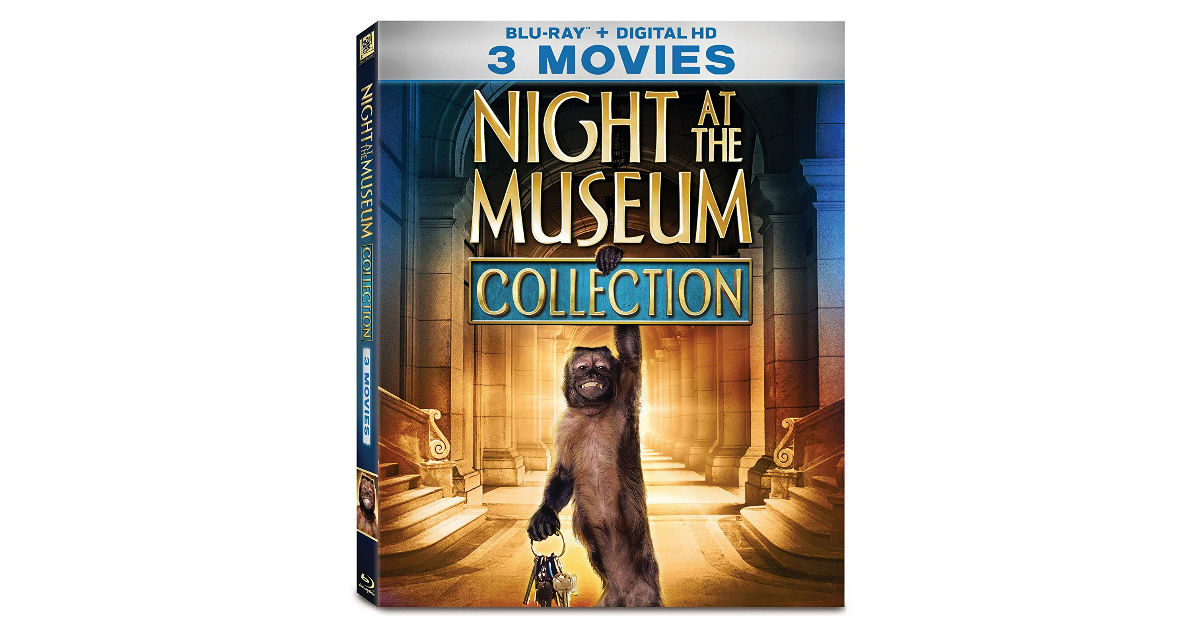 Night at the Museum 3-Movie Collection ONLY $11.99 (Reg. $35)