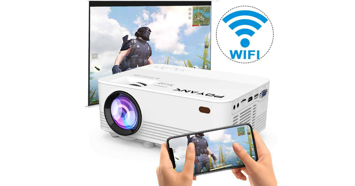 Wireless LED Mini Projector ONLY $68.99 + FREE Shipping