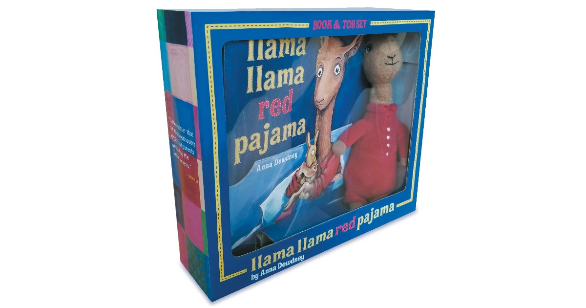 Llama Llama Red Pajama Book and Plush ONLY $9.98 (Reg. $20)