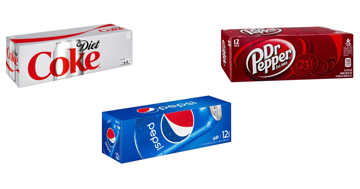 12-Pack Soda Cans ONLY $2.74 Each at Walgreens with This Deal