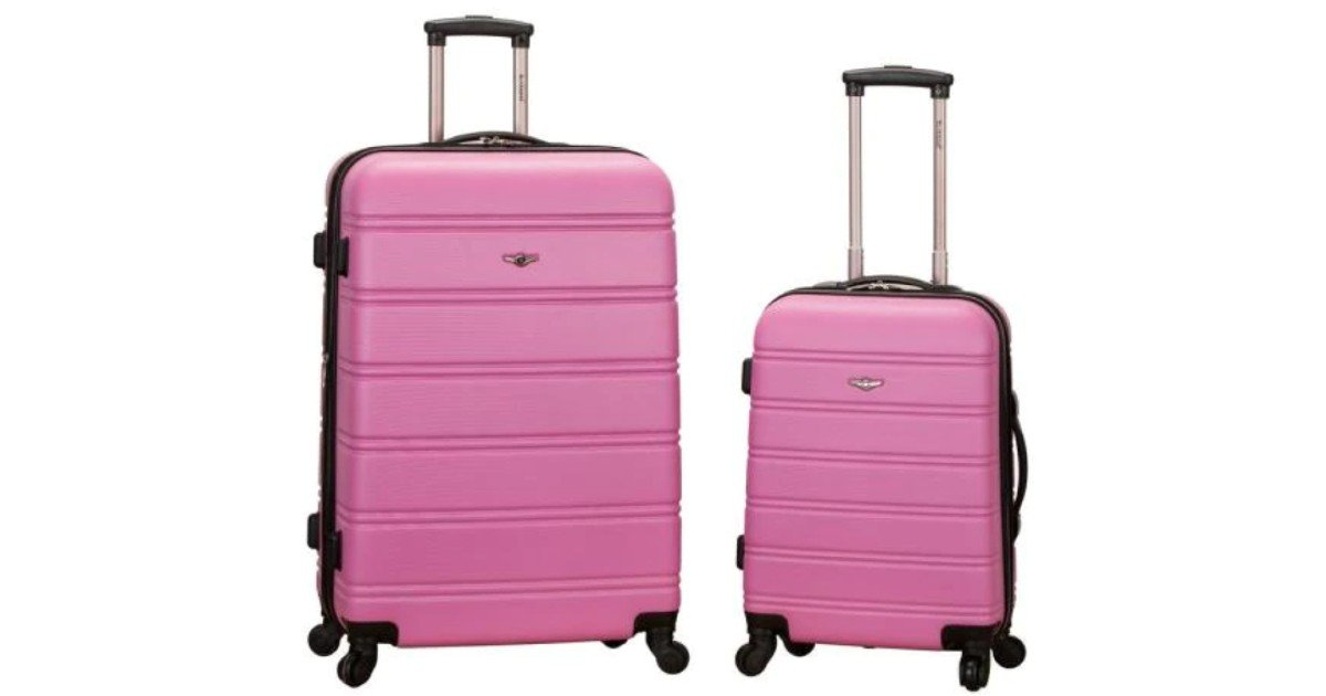 Rockland 2-Piece Luggage Set ONLY $85 (Reg $340)