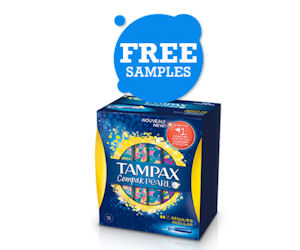 Free Sample of Tampax Pearl - Free Product Samples