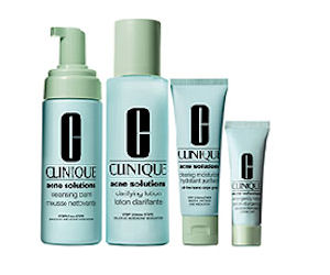 Voucher for a FREE Sample from the Clinique Acne Solutions Range ...